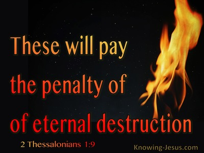 2+Thessalonians+1-9+The+Penalty+Of+Eternal+Destruction+red